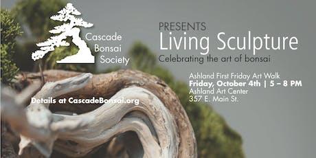 Living Sculpture   Celebrating nature through the art of bonsai  tickets