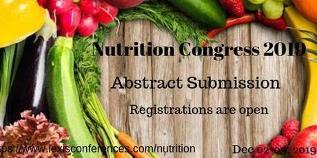 Food Science & Nutrition Conference 2020 tickets