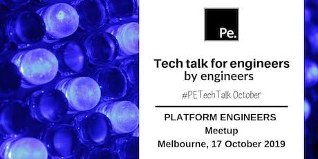 TECH TALK OCTOBER | Platform Engineers Melbourne tickets
