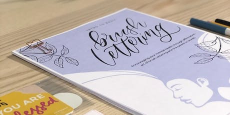 Brush Lettering Workshop tickets