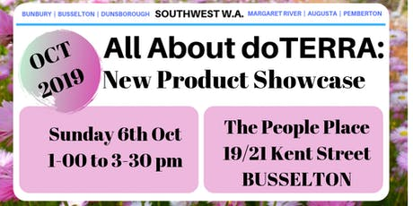 All about doTerra South West - New Product Showcase tickets