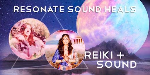 Resonate Sound Heals,  Reiki and Sound