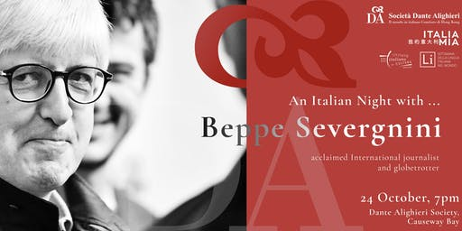 An Italian night with...Beppe Severgnini