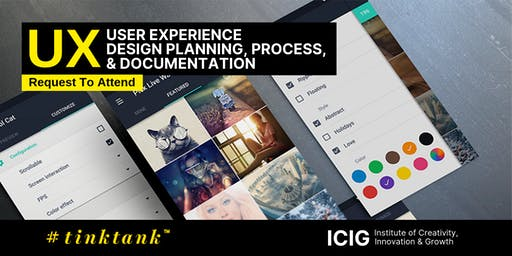 USER EXPERIENCE (UX): DESIGN PLANNING, PROCESS & DOCUMENTATION MASTERCLASS