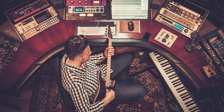 Workshop at Open Day: How to record direct guitar and bass on a DAW! tickets