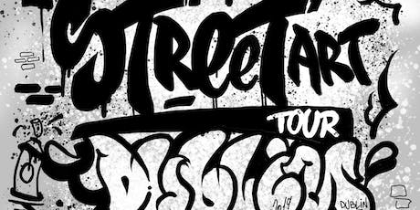 Street art tour Dublin tickets