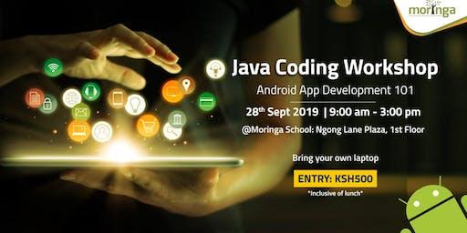 Java Coding Workshop