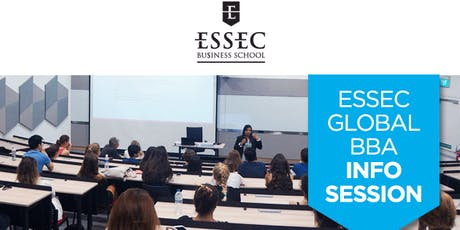 ESSEC Undergraduate Global BBA Information Session​ tickets