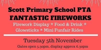 Scott Primary School Fireworks