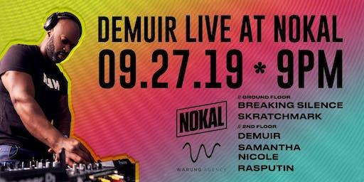 Demuir Live at NoKal!!