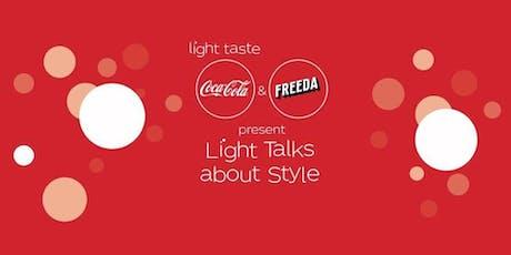 Coca Cola meets Freeda for MFW biglietti