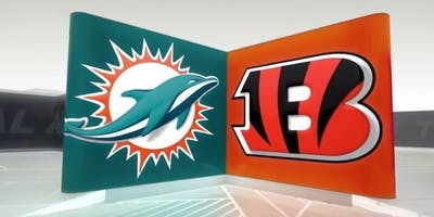 NFL Viewing Party at the TIKI BAR: DOLPHINS vs BENGALS