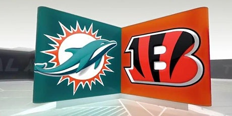 NFL Viewing Party at the TIKI BAR: DOLPHINS vs BENGALS tickets