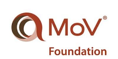 Management of Value (MoV) Foundation 2 Days Training in Hamburg