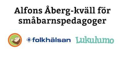 Alfons Åberg-kväll för småbarnspedagoger