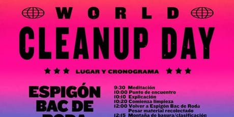 World Clean Up Day Barcelona entradas