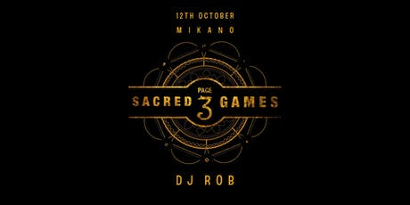 PAGE3 SACRED GAMES tickets