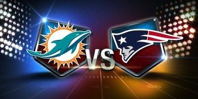 NFL Viewing Party at the TIKI BAR: DOLPHINS vs PATRIOTS