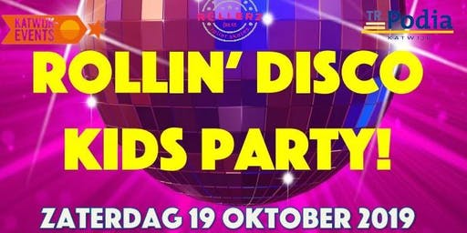 Rollin' Disco party kids (1 uur)