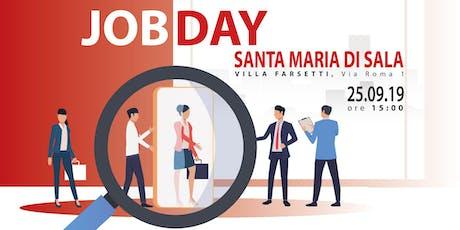 JOB DAY, un evento rivolto a chi è in cerca di lavoro biglietti