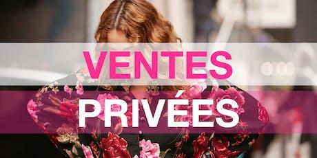 Ventes privées de vêtements grande taille Pampleon Paris tickets