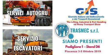 GIS GIORNATE ITALIANE SOLLEVAMENTO biglietti