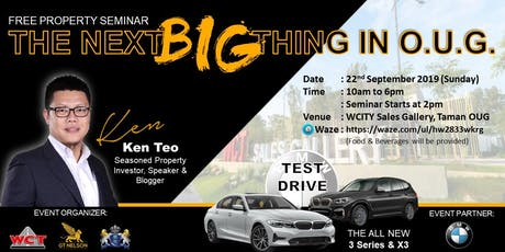 The New Trend of Efficiency Living in a KL New Integrated Township and Future Appreciation tickets