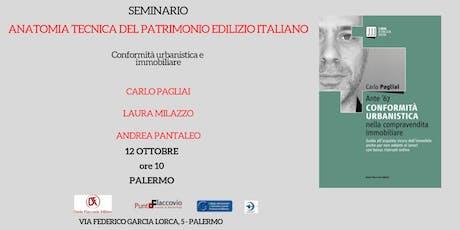 Seminario: Anatomia tecnica del patrimonio edilizio italiano biglietti