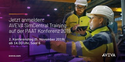 AVEVA SimCentral Training - PAAT Conference 2019