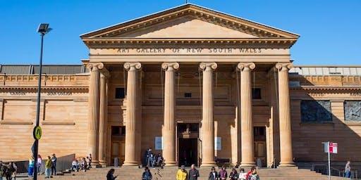 OneStep community walk - change of venue to NSW Art Gallery -  Sun 22 Sept, 11am