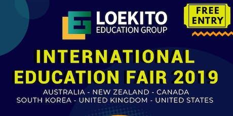 International Education Fair 2019 tickets