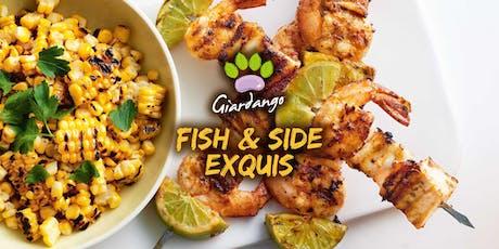 """Corso di cucina a barbecue """"Fish & Side Exquis"""" biglietti"""