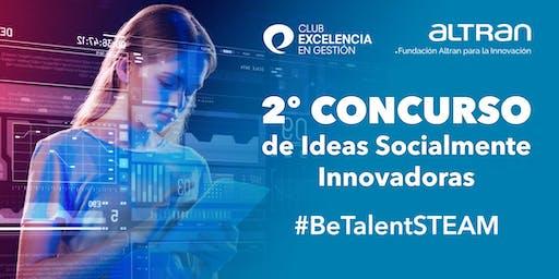 Presentación del Segundo Concurso de Ideas Socialmente Innovadoras SIM_2