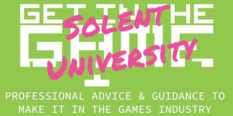 Get in the Game Careers Talks; Solent University tickets