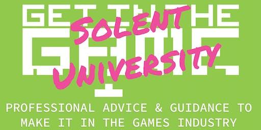 Get in the Game Careers Talks; Solent University