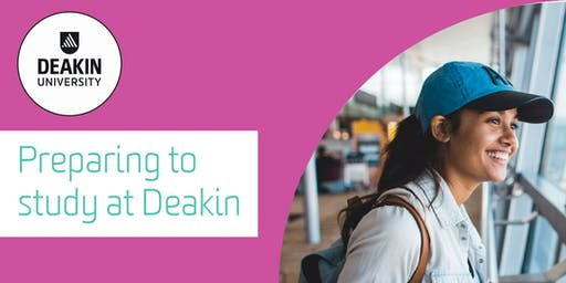 Deakin University pre-departure information evening for students & parents