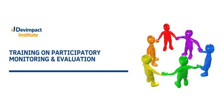 Training on Participatory Monitoring and Evaluation tickets