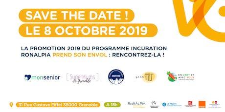 Soirée d'Envol Promotion Incubation Grenoble 2019 billets