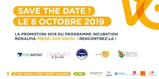 Soirée d'Envol Promotion Incubation Grenoble 2019