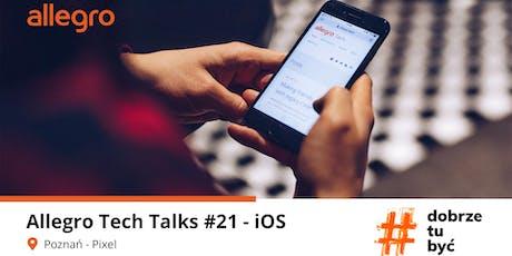 Allegro Tech Talks #21 - iOS tickets