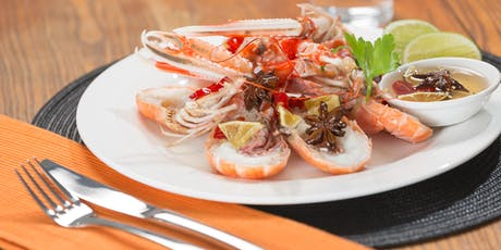 Scottish seafood networking lunch and wholesaling seminar tickets
