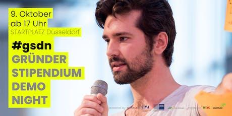 #gsdn Gründerstipendium Demo Night Tickets