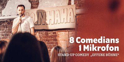 """MOINHAHA - Stand Up Comedy \""""Offene Bühne\"""""""