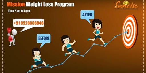 Join us for the Mission Weight Loss Program @Sunrise Club