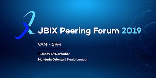 Johor Bahru Internet Exchange Peering Forum 2019