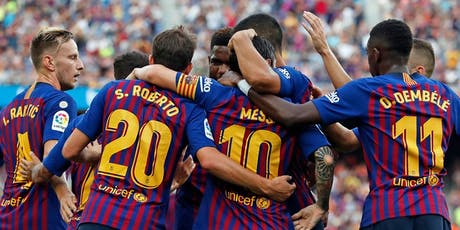 FC BARCELONA VS VILLARREAL ( La Liga ) Matchday 6 . Camp Nou Tuesday 24 Sep tickets