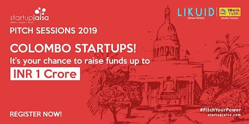 Startup Jalsa   Sri Lanka Pitch Session 2019
