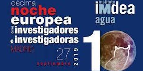 NOCHE EUROPEA DE LOS INVESTIGADORES_Monólogo de Eduardo Saenz de Cabezón- Para todos los públicos. entradas