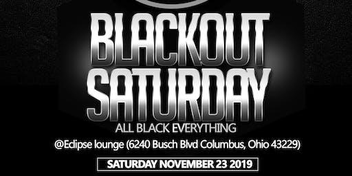 Blackout Saturday- All black everything (Columbus, Ohio)