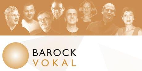 """BAROCK VOKAL: Magnificat - """"Meine Seel erhebt den Herren"""" Tickets"""